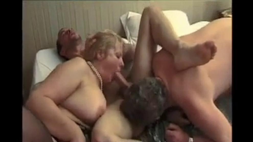 Bbw Mature Couple Threesome