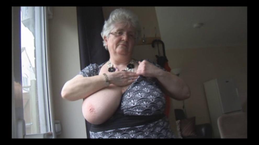 Granny Mega Boobs